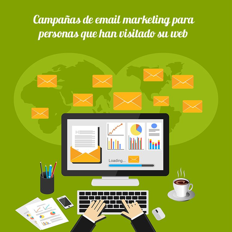 campañas de email marketing automatizado visitas web
